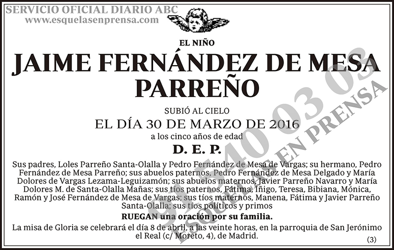 Jaime Fernández de Meas Parreño